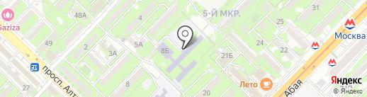 Гимназия №27 на карте Алматы