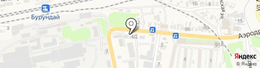 Боралдайский ремонтно-механический завод, ТОО на карте Боралдая