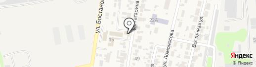 Тонус на карте Боралдая