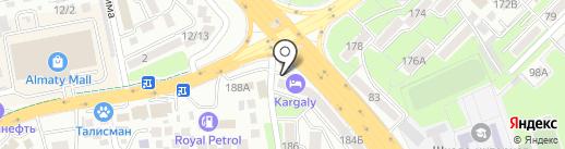 Magic Clean, ТОО на карте Алматы