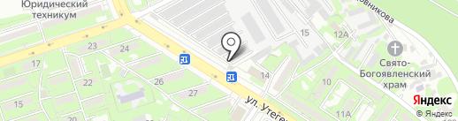 CarOil на карте Алматы