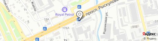 NURSIDE, ТОО на карте Алматы