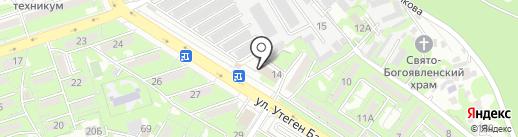 Центр ресурсной психологии на карте Алматы
