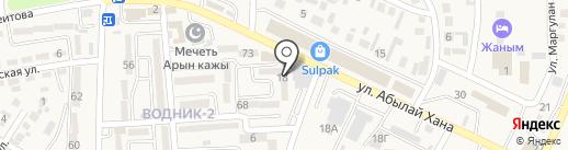 Автомагазин на карте Боралдая