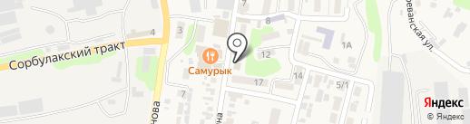 Лада, салон красоты на карте Алматы