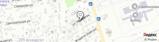FitnessPRO на карте Алматы