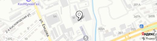 Керемет-07 на карте Алматы