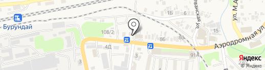 Зарина на карте Боралдая