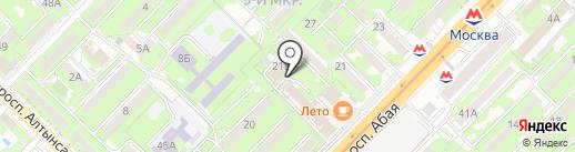 Бесатар, ТОО на карте Алматы
