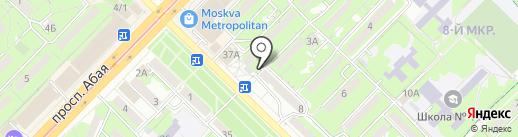 Time Cafe Po Pravde на карте Алматы