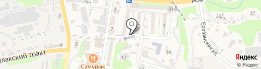 Продовольственный магазин Мырзакулова К. на карте Алматы