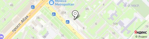 Талят на карте Алматы