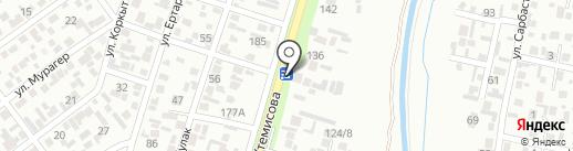 Арман на карте Алматы