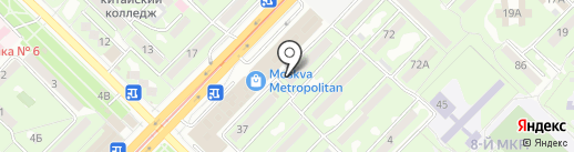 Ак-Ерке на карте Алматы