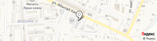 AUTOTEST на карте Боралдая
