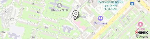Городская поликлиника №16 на карте Алматы
