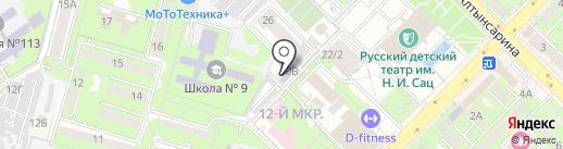 Белый Лотос на карте Алматы