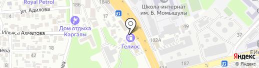 Платежный терминал, Нурбанк на карте Алматы