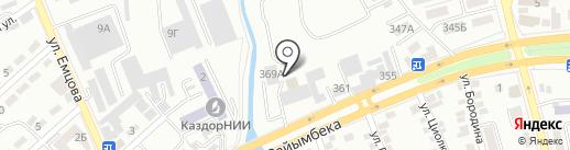 CarLine Auto Service на карте Алматы