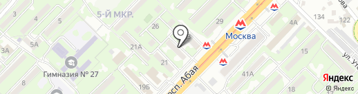 Фирма Дана на карте Алматы