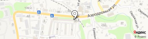 Жетысу на карте Боралдая