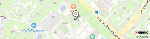 Управление государственных доходов по Ауэзовскому району на карте Алматы