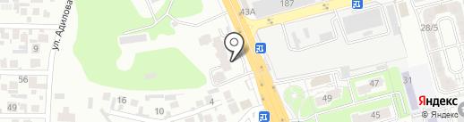 Нотариус Кудайбергенова С.Б. на карте Алматы