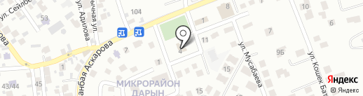 Генеральное консульство Венгрии на карте Алматы