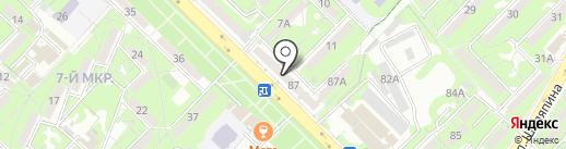 Гарант на карте Алматы