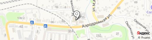 Astana на карте Боралдая