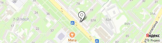 МАГ ломбард, ТОО на карте Алматы
