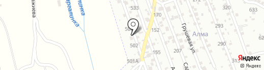 Гостиница для животных на карте Алматы