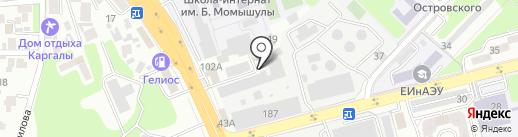 Etalon Detailing на карте Алматы