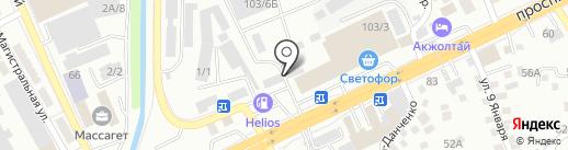 Казахстанский Центр Технического Осмотра, ТОО на карте Алматы