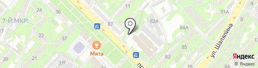 НацЭкс на карте Алматы
