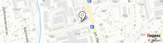 Вояж на карте Алматы