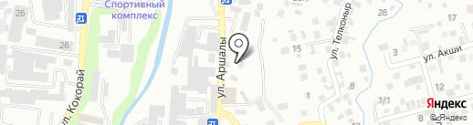Ковка на карте Алматы