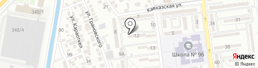 Уаис на карте Алматы