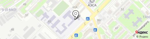 Алматинский Государственный многопрофильный колледж на карте Алматы