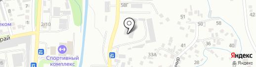 Казэлектрокабель, ТОО на карте Алматы