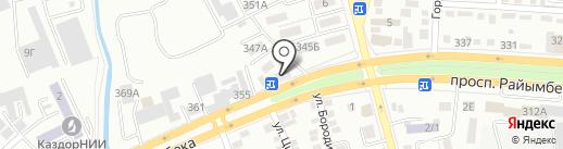 Адам, продуктовый магазин на карте Алматы
