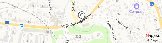 AICOM на карте Боралдая