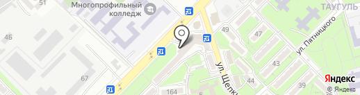 Allure на карте Алматы