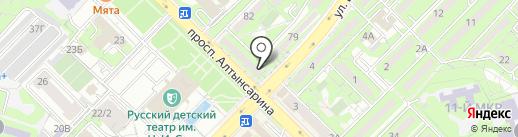 ГАЛ-Ломбард, ТОО на карте Алматы