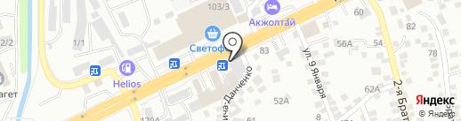 Рессор центр на карте Алматы