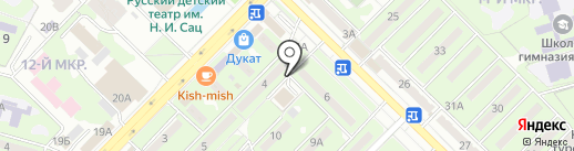 SAU bu на карте Алматы