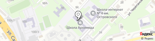 Новосибирская Академия Дизайна и Программирования на карте Алматы
