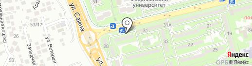AV Dental Clinic, ТОО на карте Алматы