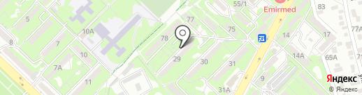 Участковый пункт полиции №30 Ауэзовского района на карте Алматы