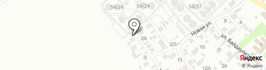 Коныр Турсын на карте Алматы